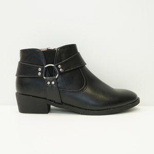 Lifestride Short Ankle Boot Bootie Black 8